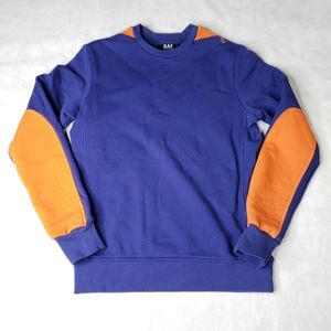 Raf Simons VTG Crew Neck Sweatshirt Elbow Patch XS